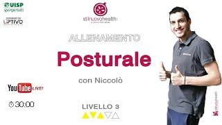 Posturale - Livello 2 - 8  (Live)