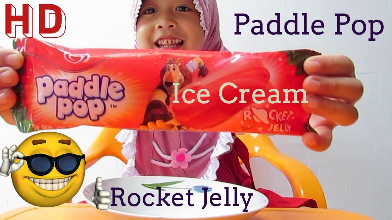 Es Krim Paddle Pop Rocket Jelly Ice Cream Tester By Lifia Niala