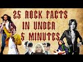 25 Rock Facts in Under 5 Minutes | Doctor Colin's World of History