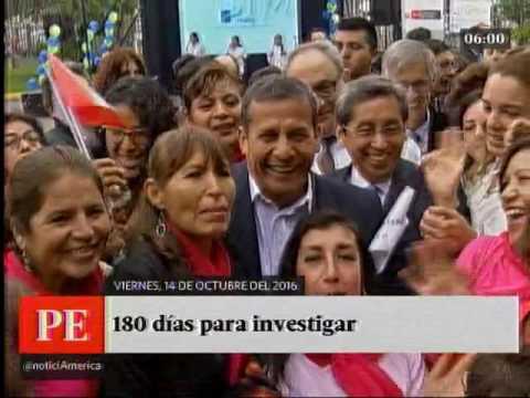 América Noticias: Primera Edición - 14.10.16