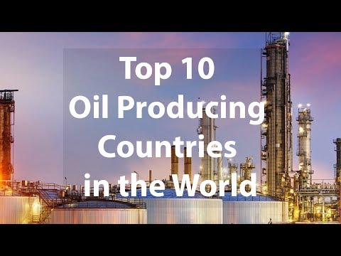 Top 10 CRUDE OIL Production per Country (Barrels per Day) 📈 - 2018/2019 by Deep Inside Top 10s