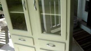 Restored China Cabinet or How Not to Make Money