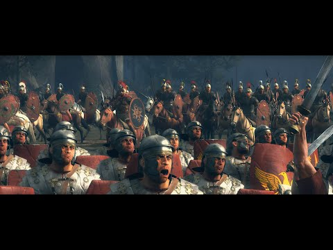 Battle of the Teutoburg Forest (9 AD) Germanic tribes Vs Roman Empire | Total War: Rome 2 cinematic |