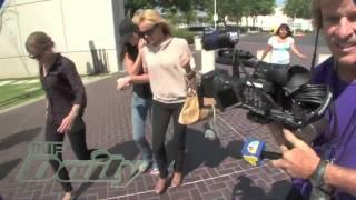 Dina & Ali Lohan Visit Lindsay in Jail
