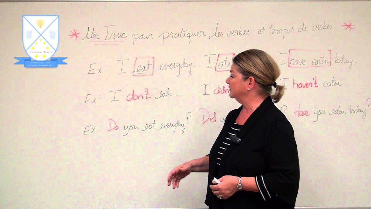 Pratiquer les verbes réguliers et irréguliers en anglais | Irregular and regular verbs in ...