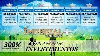 Novo LINK CADASTRO Imperial Trading Plus É Mais, É Plus!, PAGAMENTO DE PENDENCIA