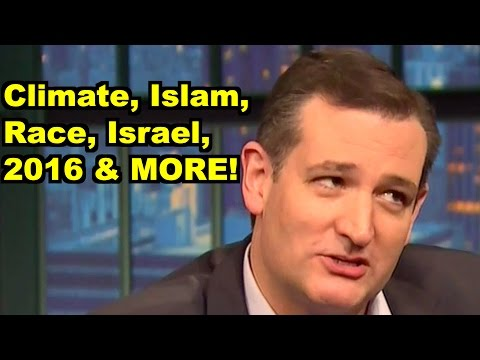 Climate, Israel, Islam, Race - Ted Cruz, Bill Maher & MORE! LiberalViewer Sunday Clip Round-Up 100