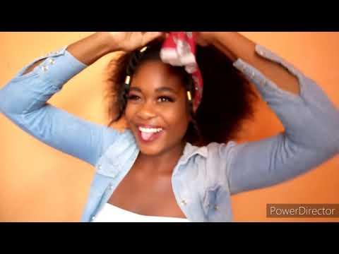 CUTE/EASY HAIRSTYLES FOR MEDIUM LENGTH NATURAL HAIR
