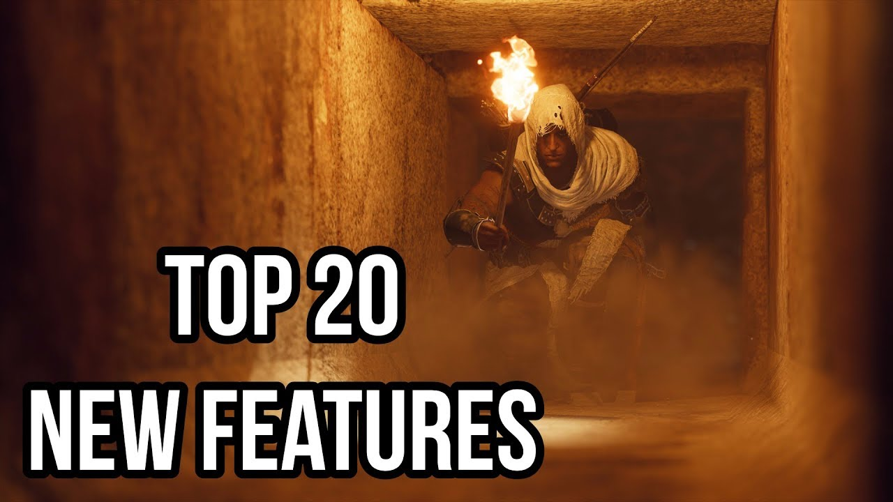 Top 20 New Features In Assassin's Creed Origins