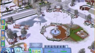 The Sims 3: Seasons  - snow
