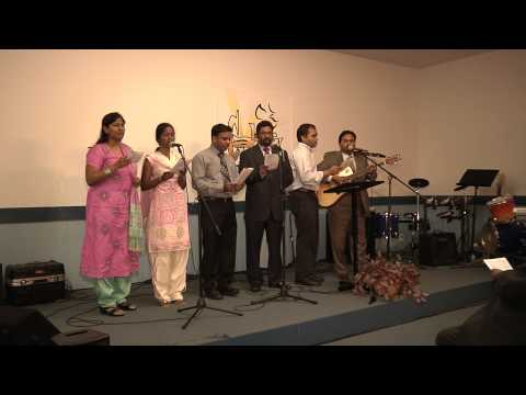 Hindi Christian Song - Hey Mere Man Yehovah Ko - UECF Choir
