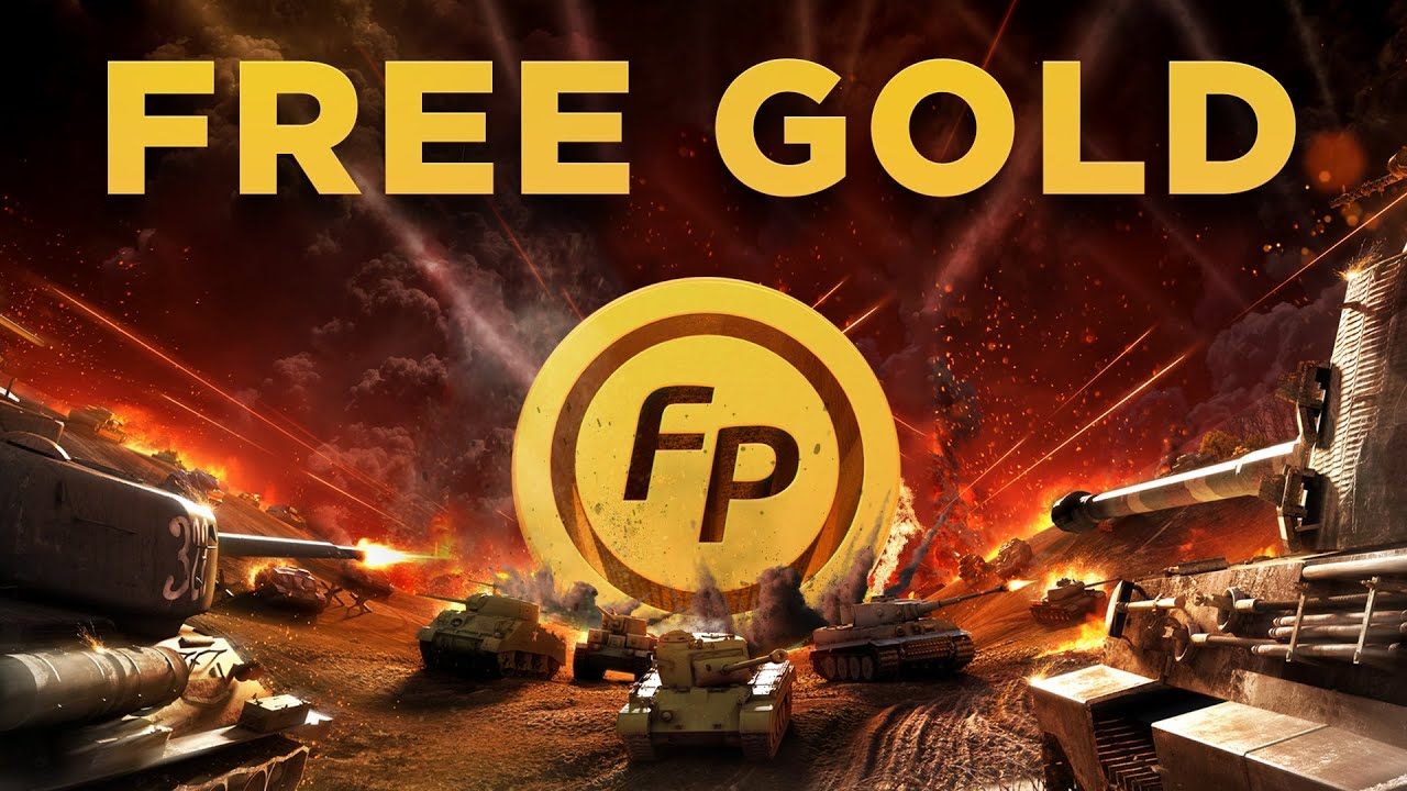 World of Tanks Blitz - How to get FREE GOLD, Unlimited. - YouTube