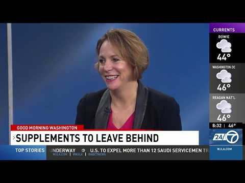Karen Howard, Organic & Natural Health: Supplements To Leave Behind