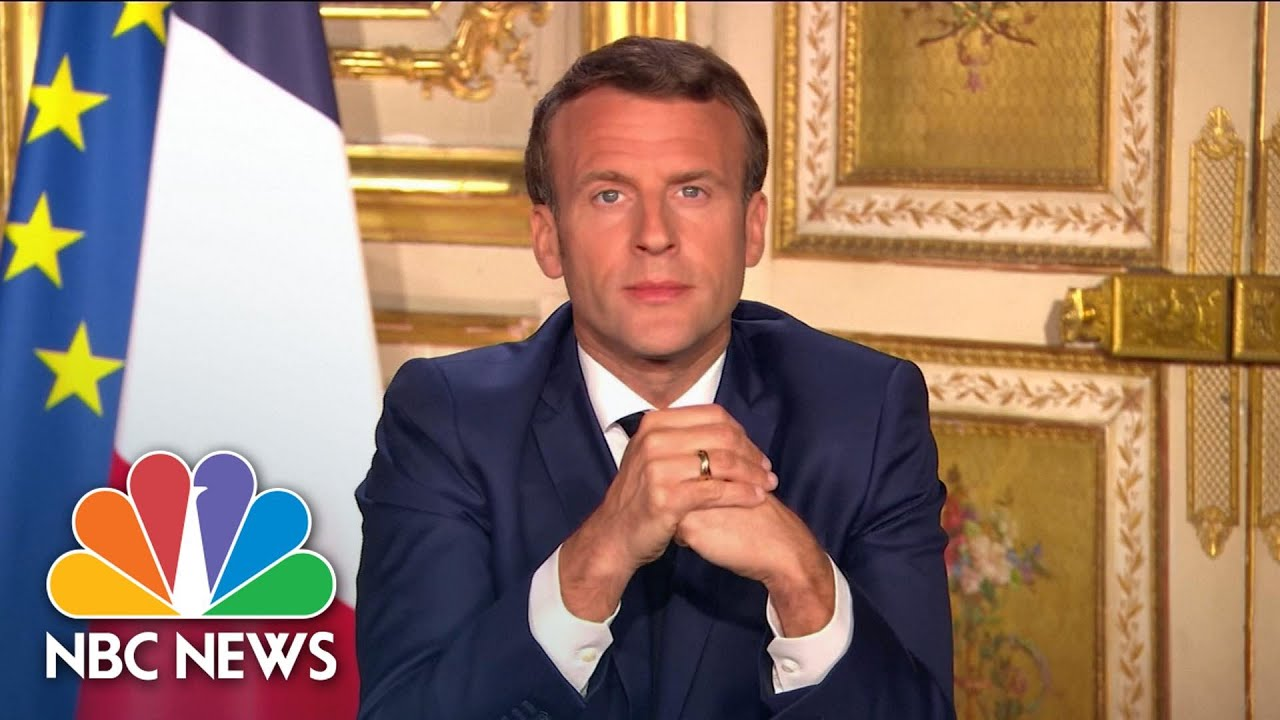 'Events Revealed Weaknesses': Macron Admits France Was Unprepared For COVID-19 | NBC News