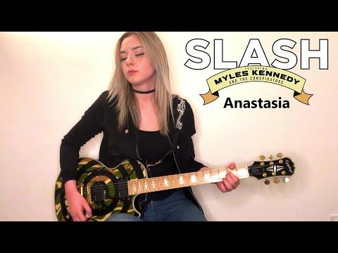 SLASH – ANASTASIA | Full Guitar Cover (Multicam) by Anna Cara