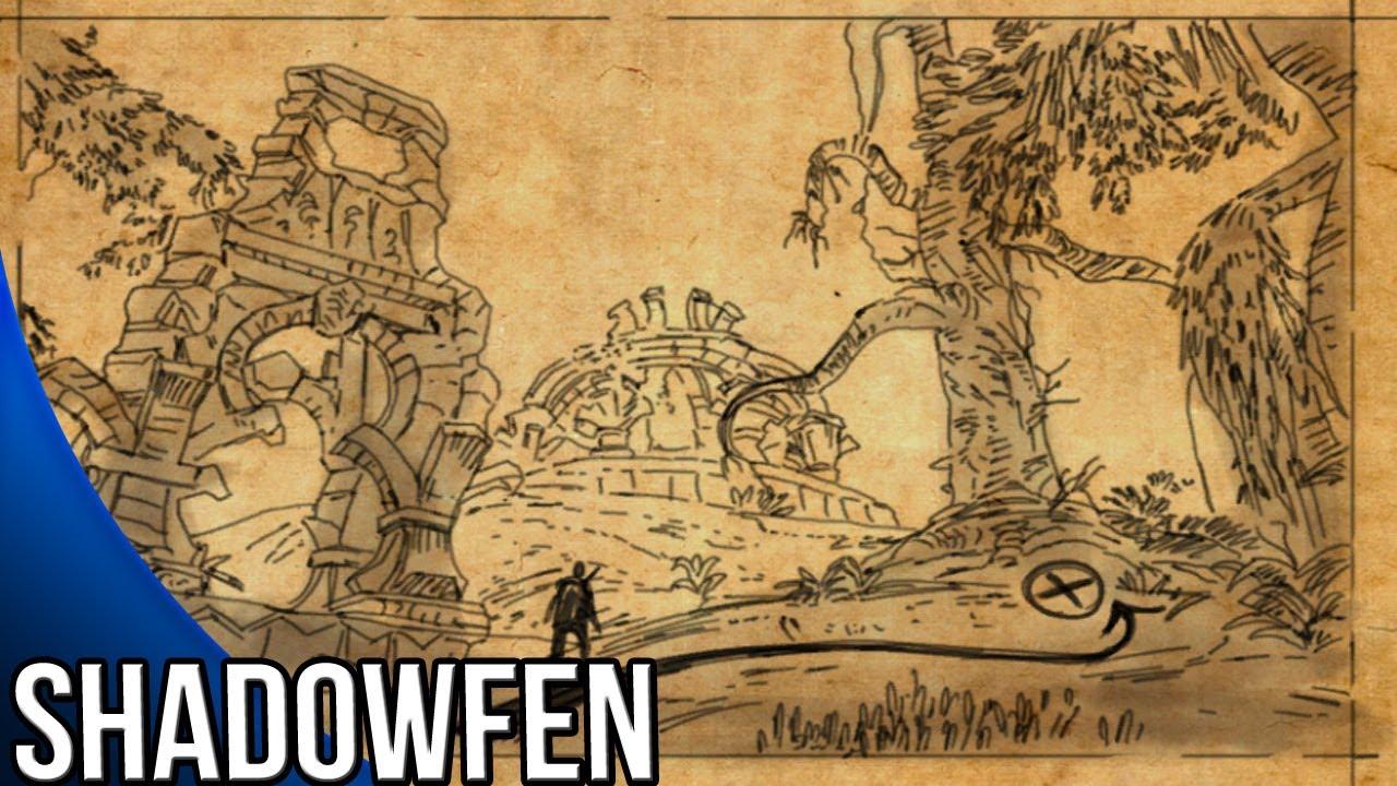 Shadowfen CE Treasure Map Guide   The Elder Scrolls Online   YouTube