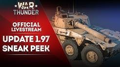 🔴 [STREAM] Exclusive sneak peek of update 1.97 / War Thunder