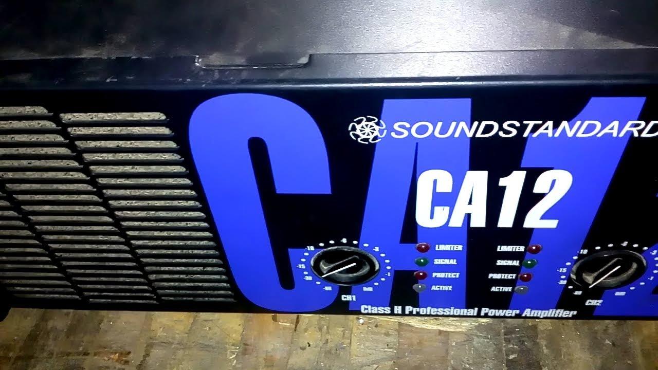 CA 12 POWER AMPLIFIER