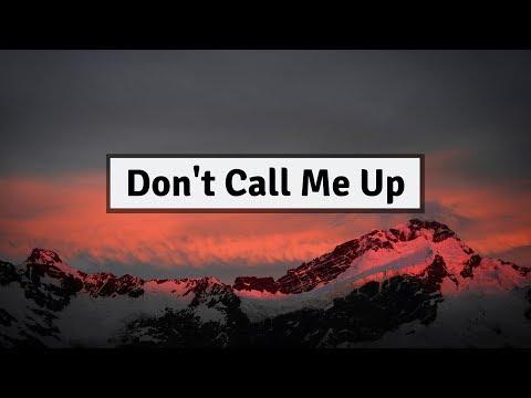 Mabel - Don't Call Me Up (Lyrics)   Panda Music
