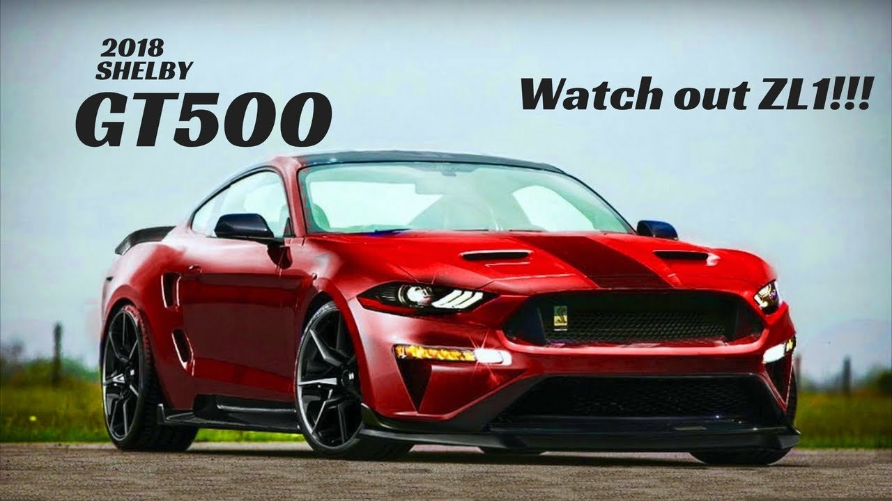 The 2018 Mustang Shelby Gt500 Is Gunning For The Camaro