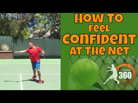 Thumbnail: Tennis Volleys | How To Feel Confident at the Net