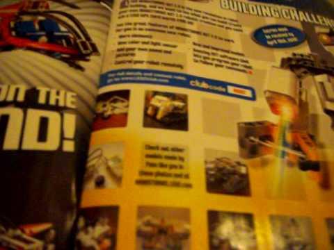 Lego club magazine review
