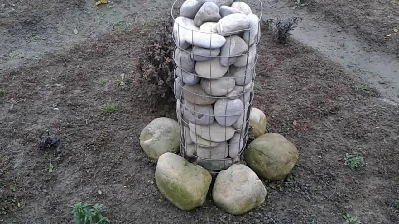 decoratiune gradina din pietre de rau noiembrie 2017