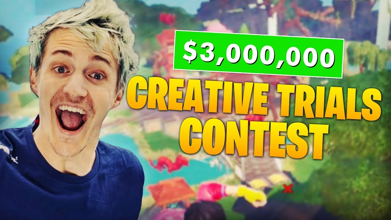 How to enter Ninja's Fortnite World Cup Creative Trials