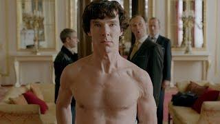 Шерлок и Джон в Букингемском дворце (Часть 1). Шерлок. 2012