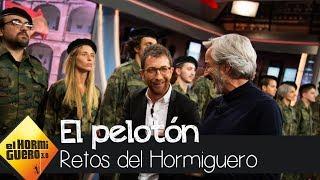 Imanol Arias pasa revista a unos soldados muy especiales y algo díscolos - El Hormiguero 3.0