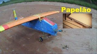 Aeromodelo de papelão voa ???