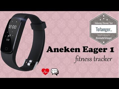 Aneken Eager1: connected watch, fitness activity tracker (Aneken Eager 1)