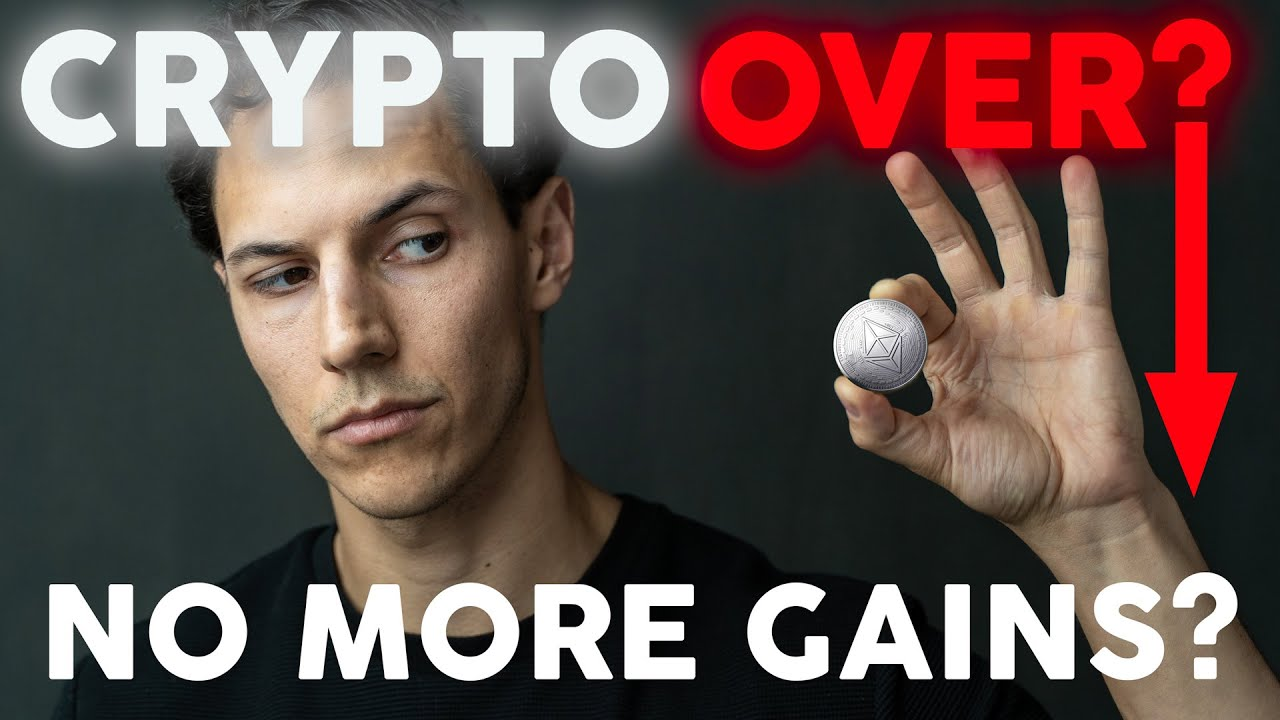 Cryptocurrency BULL MARKET Over? | Crypto Gains Lost?