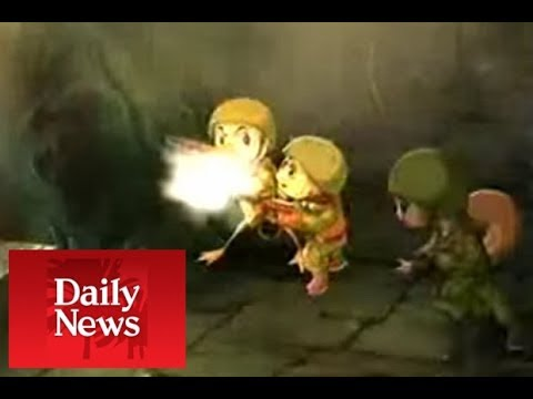 REVEALED: North Korea's BRAINWASHING cartoons forcing children to HATE the US - DAILY NEWS