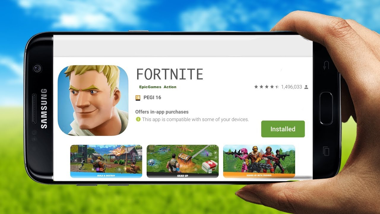 Fortnite Mobile Android Is Here Fortnite App Android Google Play