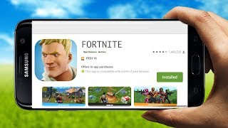 Fortnite Mobile ANDROID Is HERE! | Fortnite App Android Google Play Release Gameplay)