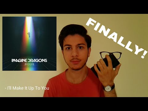 Imagine Dragons - EVOLVE (Full Album REACTION) !