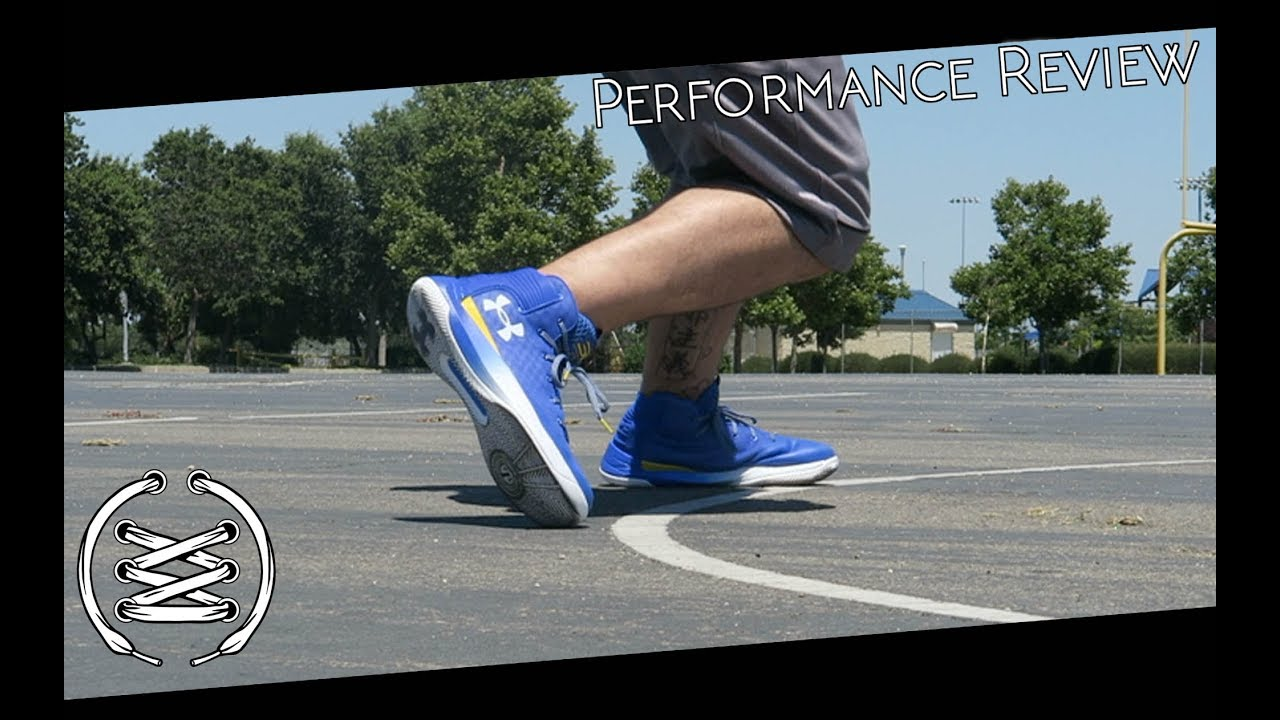 9e8bd21fa92 Under Armour Curry 3ZER0 Performance Review - YouTube