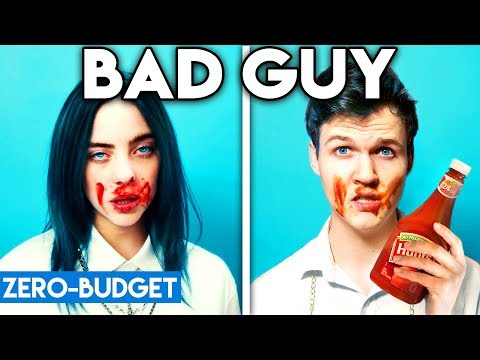 BILLIE EILISH WITH ZERO BUDGET! (Bad Guy PARODY)