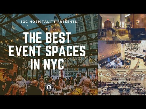 IGC Hospitality Events- Best NYC Private Event Spaces