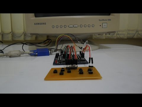 FPGA 8-bit CPU & VGA Controller