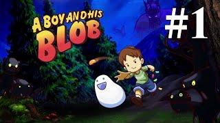 Прохождение A Boy and His Blob — Часть 1: Начало приключения