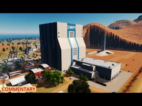 Cities: Skylines - Official Mars Radio blurbs and commentary
