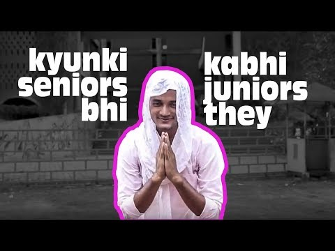 PMCA - Kyunki Seniors Bhi Kabhi Juniors They (Architecture Students Parody)