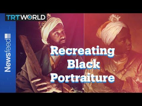 Recreating Black Portraiture