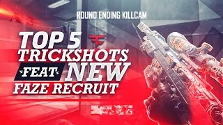 FaZe Top 5 Trickshots - Episode 17 w/ New FaZe Recruit!