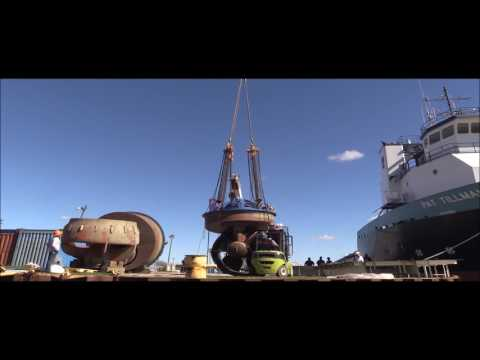 Main Thruster Removal