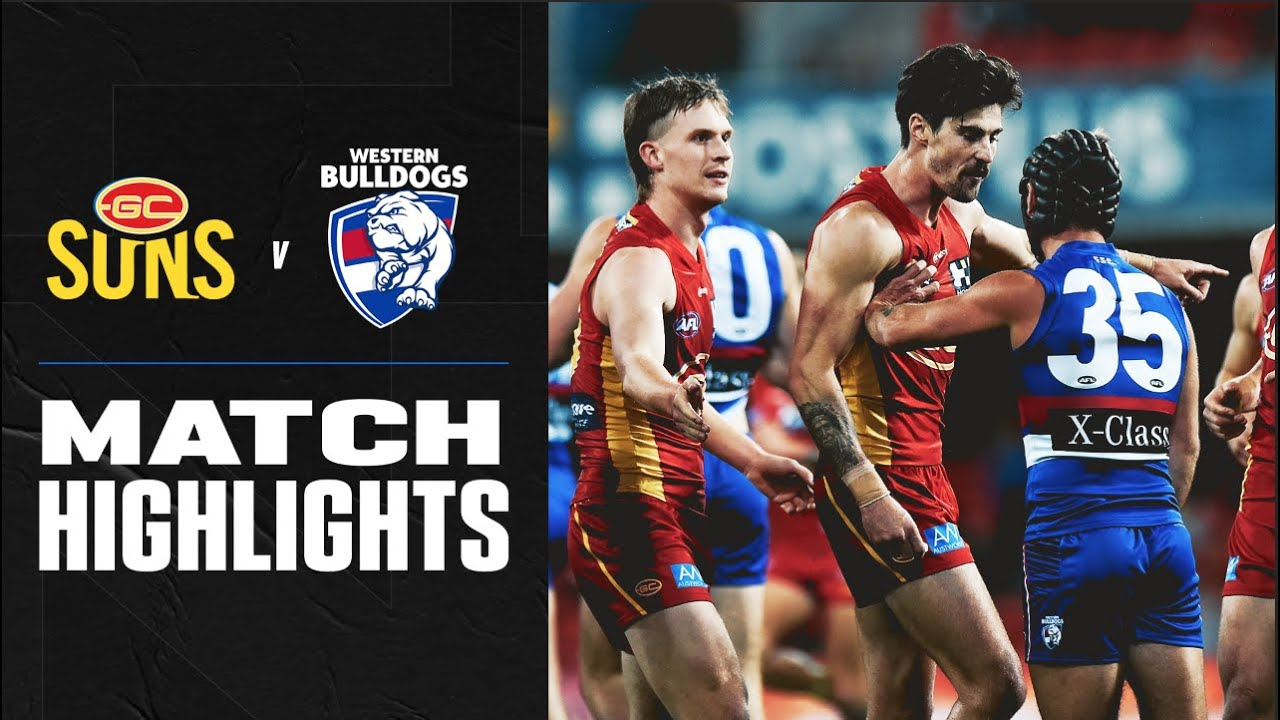 Gold Coast Suns v Western Bulldogs Match Highlights | Round 8 2020 | AFL – AFL