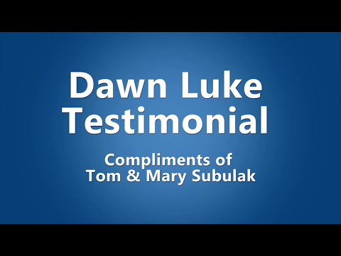 Tom and Mary Subulak, Rio Verde Real Estate experience with Dawn Luke