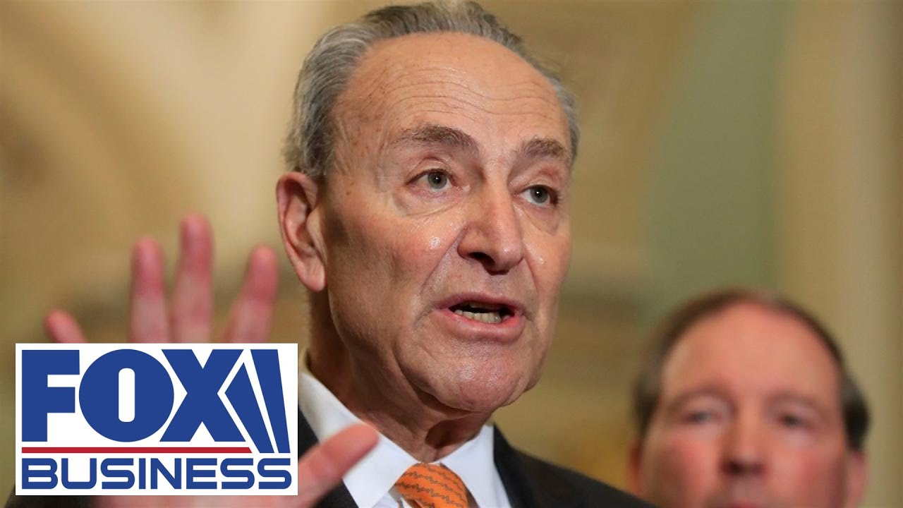 Schumer calls new $2T stimulus package 'unemployment on steroids'